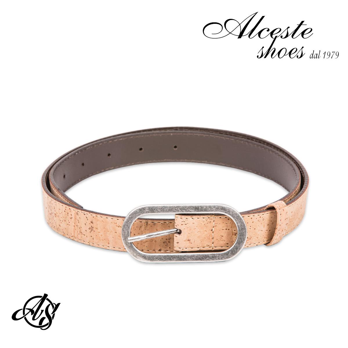 Cintura Donna in Sughero Beige Alceste Shoes 33