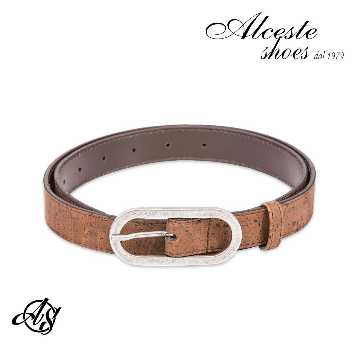 Cintura Donna in Sughero Marrone Alceste Shoes 34